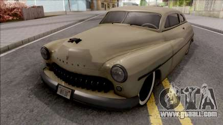Mercury Coupe Custom 1949 v2 for GTA San Andreas