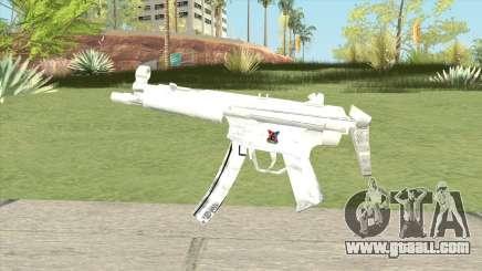 MP5 (White) for GTA San Andreas