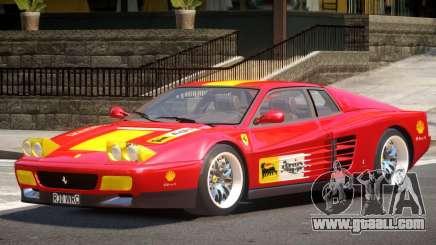 Ferrari 512 Testarossa RS for GTA 4