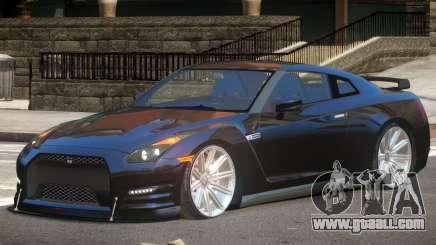 Nissan GT-R Sport V1.0 for GTA 4