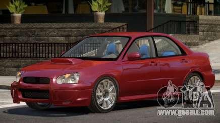 Subaru Impreza TDI for GTA 4
