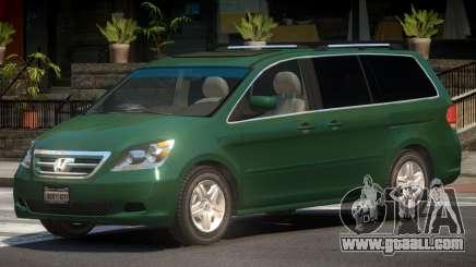 Honda Odyssey V1.0 for GTA 4