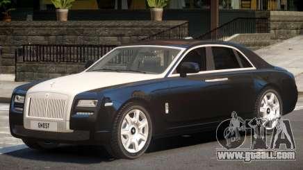 Rolls-Royce Ghost V1.0 for GTA 4