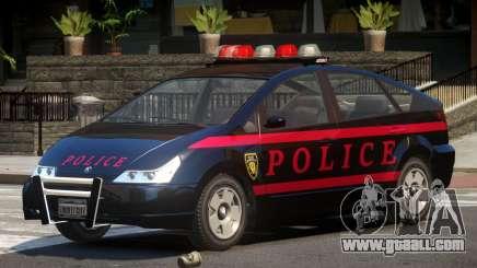 Karin Dilettante Police V1.0 for GTA 4