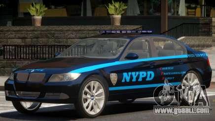 BMW 350i Police V1.0 for GTA 4