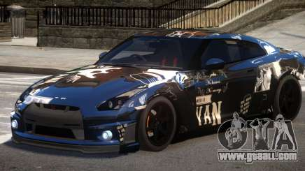 Nissan GT R35 V1.0 PJ3 for GTA 4