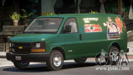 Chevrolet Express PJ2 for GTA 4