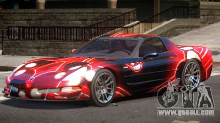 Chevrolet Corvette Z06 ST PJ2 for GTA 4