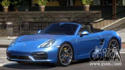 Porsche Boxster GTS Spider V1.0 for GTA 4