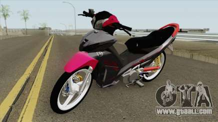 Yamaha Lagenda 115ZR (Coverset Merah 2019) for GTA San Andreas