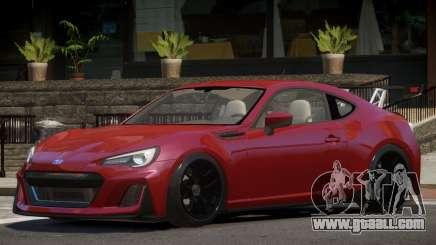 Subaru BRZ GT for GTA 4