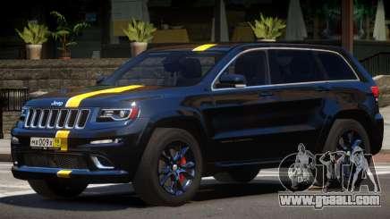 Jeep Grand Cherokee Black Edition for GTA 4
