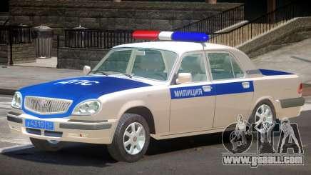GAZ 31105 Police V1.0 for GTA 4