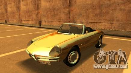 Alfa Romeo Spider Duetto 160 1966 for GTA San Andreas