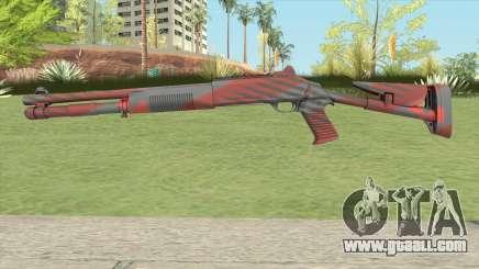 XM1014 Nukestripe Maroon (CS:GO) for GTA San Andreas