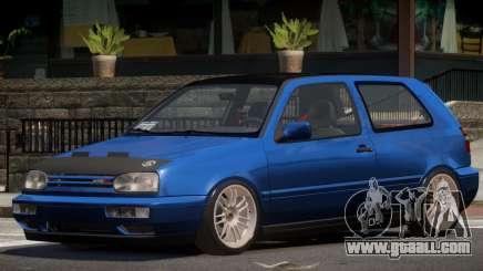 Volkswagen Golf Tuned for GTA 4