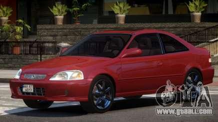 Honda Civic Si V1.0 for GTA 4
