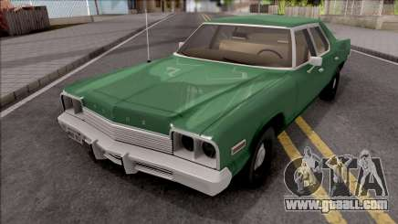 Dodge Monaco 1974 Green for GTA San Andreas