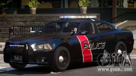Dodge Charger Police V1.1 for GTA 4