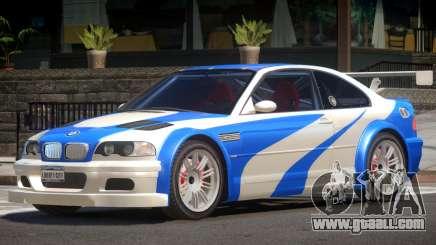 BMW M3 GTR V1.0 for GTA 4