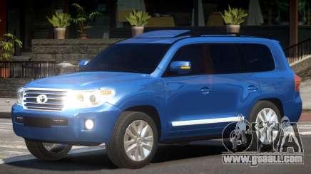 Toyota Land Cruiser 200 V1.2 for GTA 4