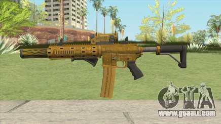 Carbine Rifle GTA V (Luxury Finish) Full V2 for GTA San Andreas