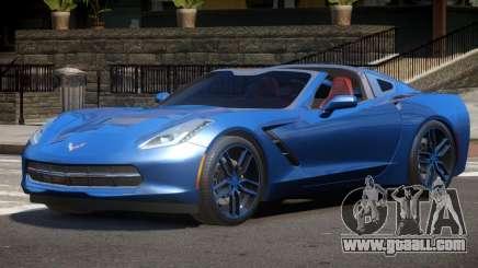 Chevrolet Corvette C7 V1.0 for GTA 4