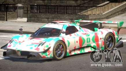 Pagani Zonda GT-R PJ5 for GTA 4