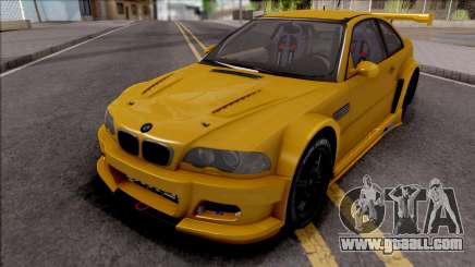 BMW M3 from NFS Shift 2 for GTA San Andreas