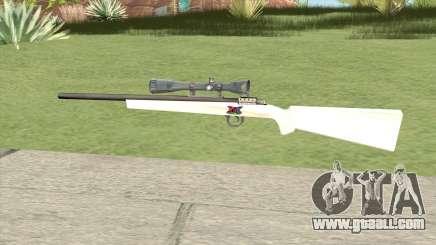 Sniper Rifle (White) for GTA San Andreas