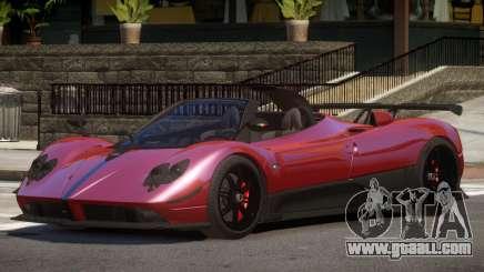 Pagani Zonda Spider V1.0 for GTA 4