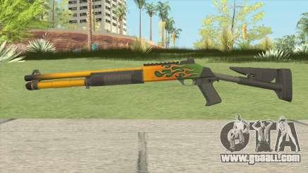 XM1014 Hot Rod (CS:GO) for GTA San Andreas