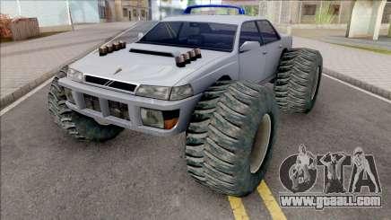 Monster Sultan Grey for GTA San Andreas