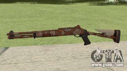 XM1014 Snakeskin Red (CS:GO) for GTA San Andreas