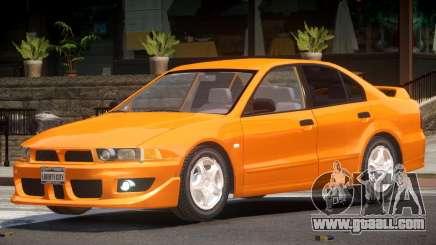 Mitsubishi Galant ST for GTA 4