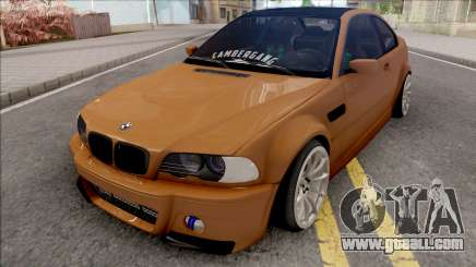 BMW 3-er E46 2000 Stance by Hazzard Garage v2 for GTA San Andreas