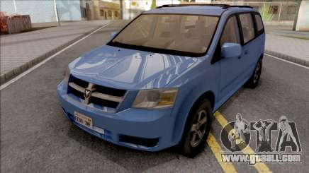 Dodge Grand Caravan 2009 for GTA San Andreas