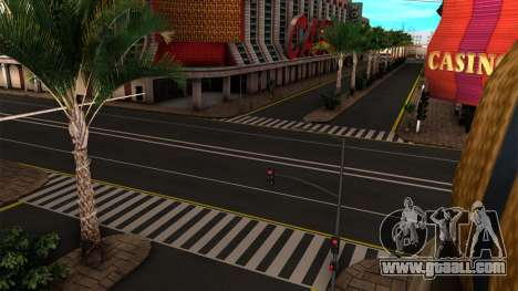 ROMANIAN HQ ROADS by Stringer for GTA San Andreas