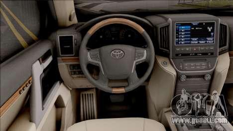 Toyota Land Cruiser VX-R for GTA San Andreas