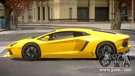 Lambo Aventador RS V1.2 for GTA 4