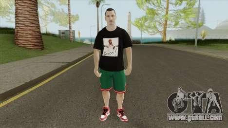 Zlatan Ibrahimovic for GTA San Andreas
