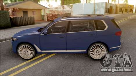 BMW X7 2020 Low Poly for GTA San Andreas