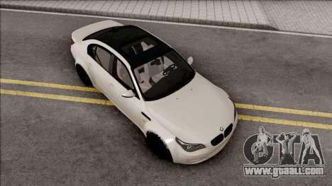 BMW M5 E60 Wide Body for GTA San Andreas
