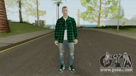 Cristiano Ronaldo (HQ) for GTA San Andreas