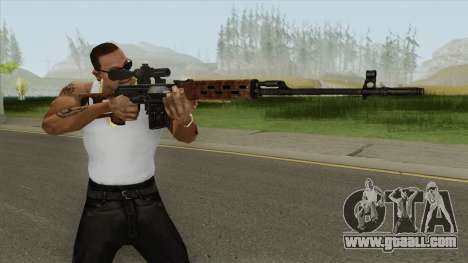 SVD-63 (Born To Kill: Vietnam) for GTA San Andreas