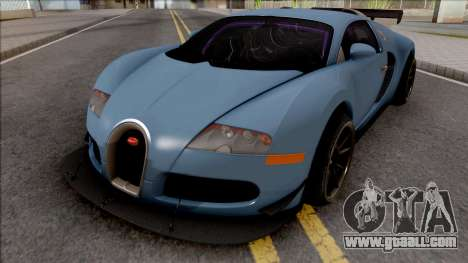 Bugatti Veyron 3B 16.4 2009 for GTA San Andreas