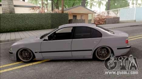 BMW M5 E39 Romanian Plate for GTA San Andreas