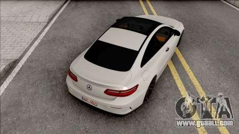 Mercedes-Benz E350D Coupe C238 2017 SlowDesign for GTA San Andreas