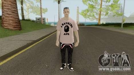 Mesut Ozil for GTA San Andreas