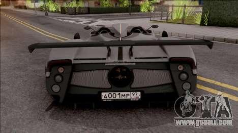 Pagani Zonda HP Barchetta 2018 for GTA San Andreas